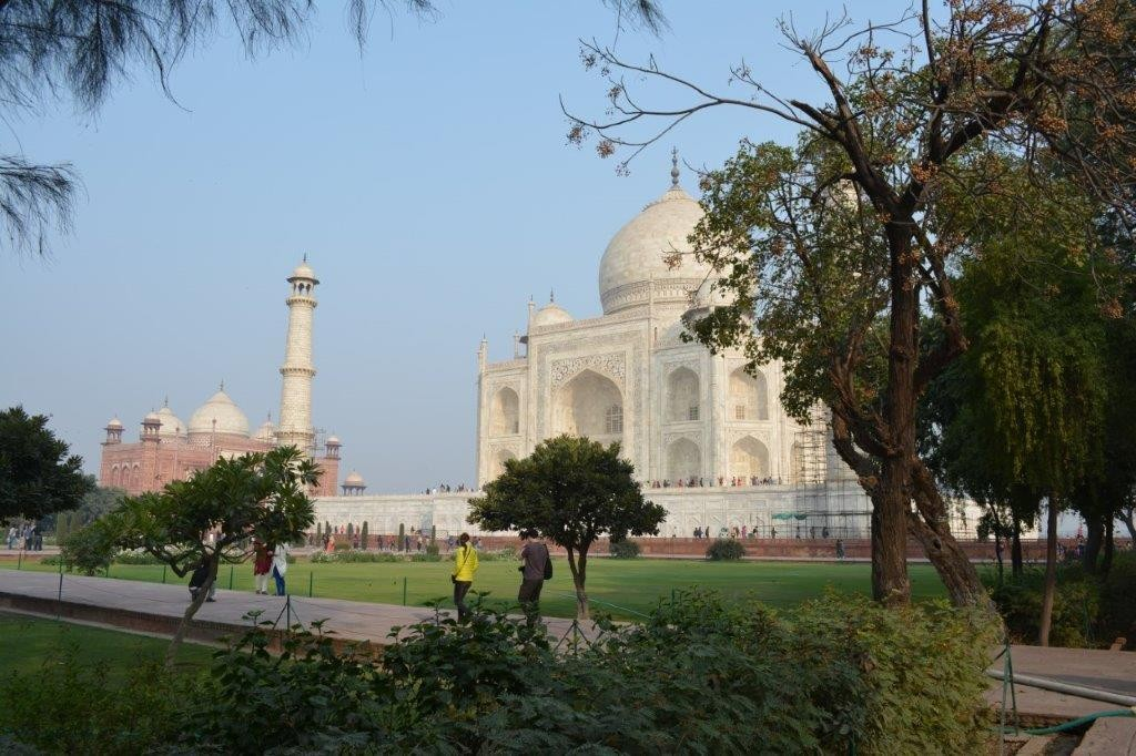 A good guide will reveal the full history of the Taj Mahal.